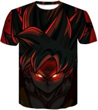AliExpress Dragon Ball Z T Koszule Męskie Moda Lato Druku 3D Super Saiyajin Vegeta Goku Czarny Zamasu Smok T shirt Topy Ceneo.pl