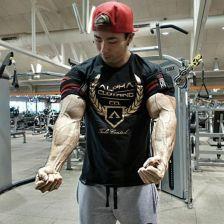 3baf454f41a27e AliExpress Mężczyzna lato bawełna Krótki rękaw t shirt siłownie Siłownia  kulturystyka Koszulki Drukowane Marki O-