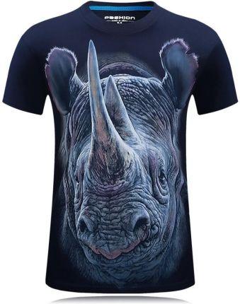eb3be94c2f AliExpress 2018 Lato Moda męska Zwierząt Drukowane 3D T-shirt wzrost  jakości marki-odzież