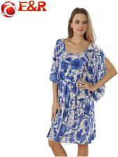 61d6b5f0a8 AliExpress 2016 Detaliczne Nowe Wiosenne I Letnie Plus Size Wakacje Bikini  Poza kitel Blue i white