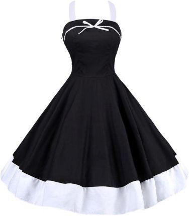 6ca265adcb AliExpress Vestidos Lato Kobieta Sukienka Polka Dot Retro Dorywczo Szata  Rockabilly Pinup Swing Vintage Suknie Party
