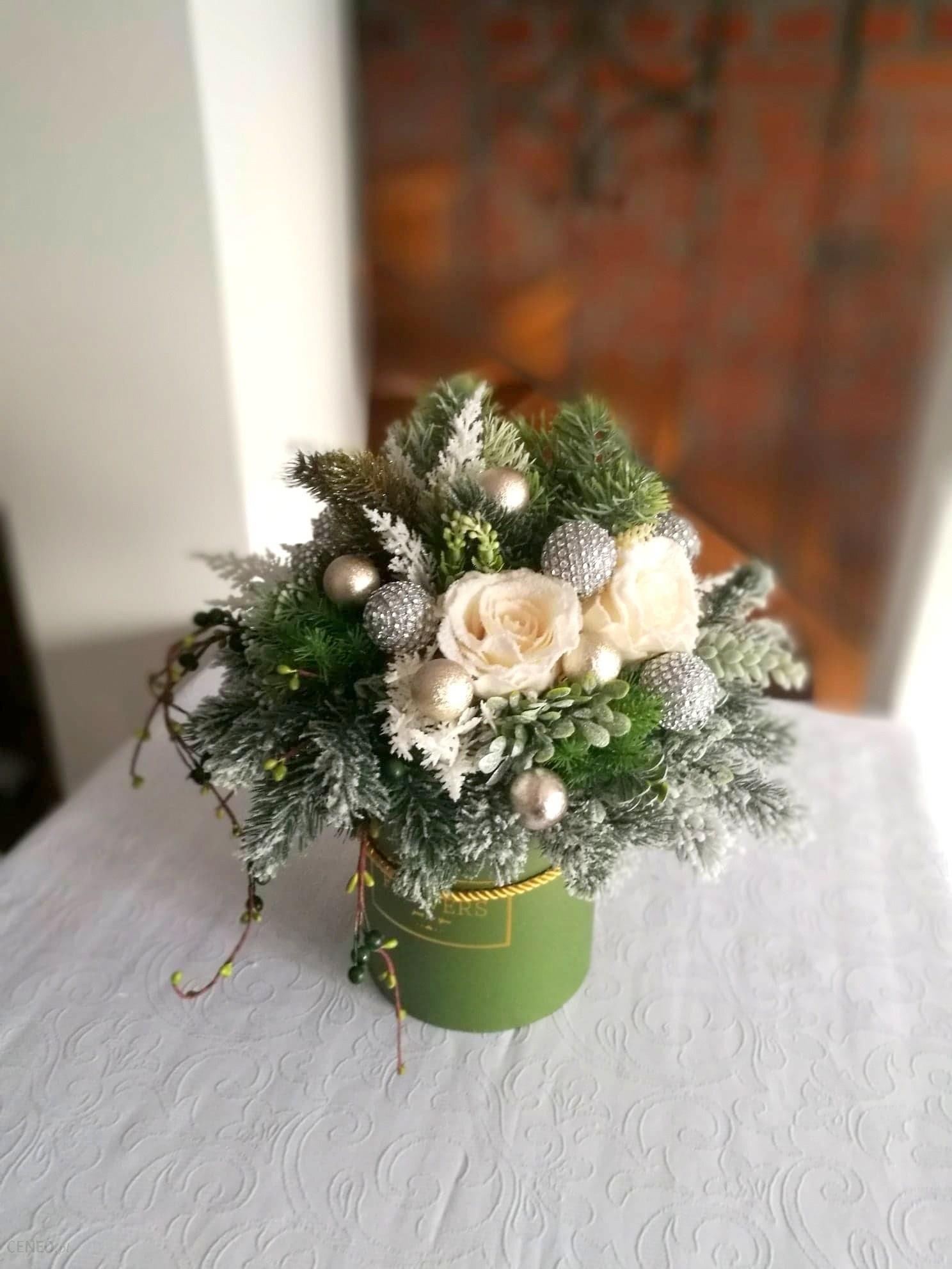 świąteczne Atelier świąteczny Flower Box Leśne Spotkanie Nr 118
