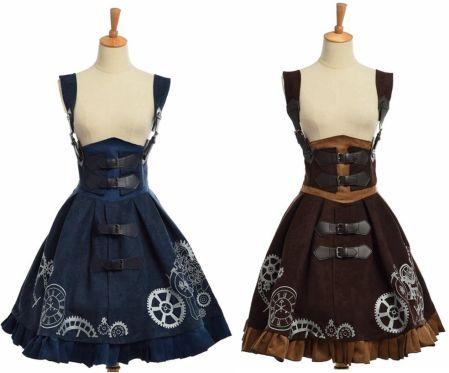 78cec84a6b5fc AliExpress Elegancki Gothic Steampunk Sukienka W Stylu Vintage Kobiety  Wiktoriańskiej Okres JSK Lolita Haftowane Lace-
