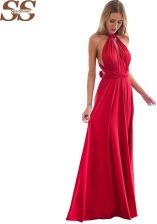 0b61e82a33 AliExpress 2019 nowych moda 20 kolor lato Sexy kobiety Boho sukienka w dużym  rozmiarze czerwony bandaża