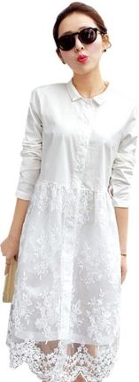 b774f002c8 AliExpress Białe koronki sukienka 2018 new arrival kobiety sukienka z  długim rękawem słodkie sukienki na co