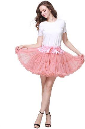 de5aa334fe AliExpress 2 pc Extra puszyste Mini spódnica dziewczyna dorosłych kobiet  Pettiskirt Tutu 2 warstwa z podszewka
