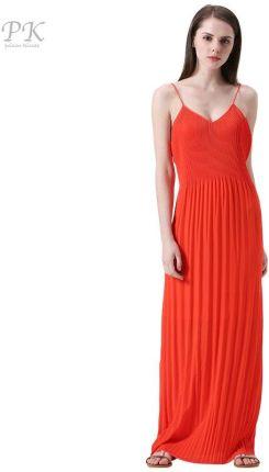 316376fd9f AliExpress PK czerwony lato maxi sukienka 2018 koral kołnierz beach party  sexy klub boho sundress lato