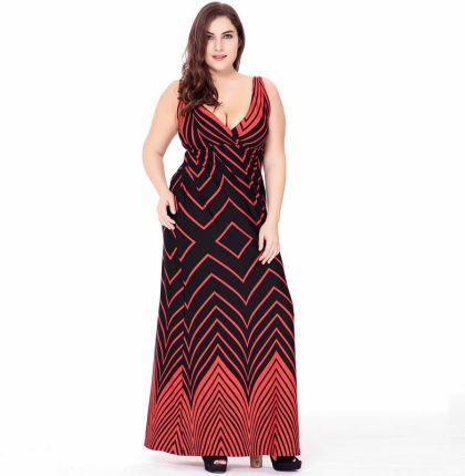 8b76cee9df AliExpress Kobiety lato czeski Sexy druku Plus size sukienka lady rękawów  duży rozmiar sukni wakacje na