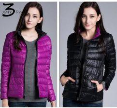 a08fc4c0778713 AliExpress XMY3DWX kobiety mody w zimie, aby utrzymać ciepłe 90% białe  kaczki dół stanąć