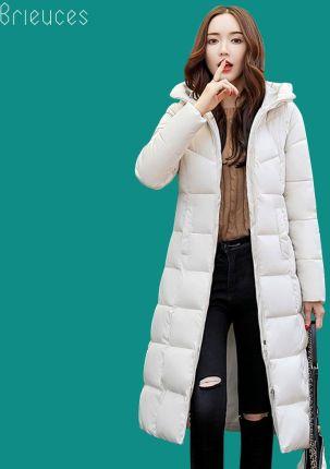 765cdb3c75 AliExpress Beieuces 2019 ciepłe zimowe kurtki kobiety z kapturem plus size  zagęścić długie parki znosić chleb
