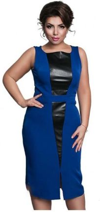 1850c5425f AliExpress 2017 Nowy Kobiety Sukienka Plus Rozmiar Maxi Kolano Długość  Vestidos Sukienka Ponadgabarytowych Patchwork Prosto Lato