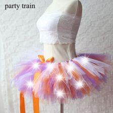 c1753f4291 AliExpress 2018 New Arrival Kobiety Tulle Tutu Spódnica Sexy Mini Fancy Dorosłych  Kiecka Puszyste Przędzy Balet
