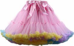27fe9d2f68 AliExpress FOLOBE damska Dziewczyny Tutu Spódnice Kostium Balet Dancewear Spódnice  wielowarstwowa Puffy Spódnica Luksusowe Krynoliny Halki