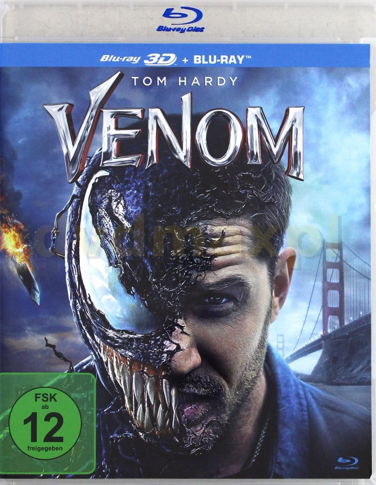 Venom [Blu-Ray 3D]+[Blu-Ray]