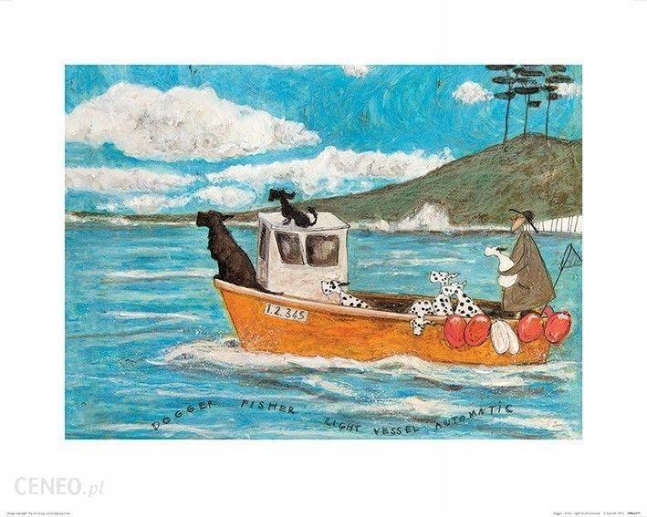 Sam Toft Dogger Fisher Plakat Premium 50x40 Cm Opinie I Atrakcyjne Ceny Na Ceneopl