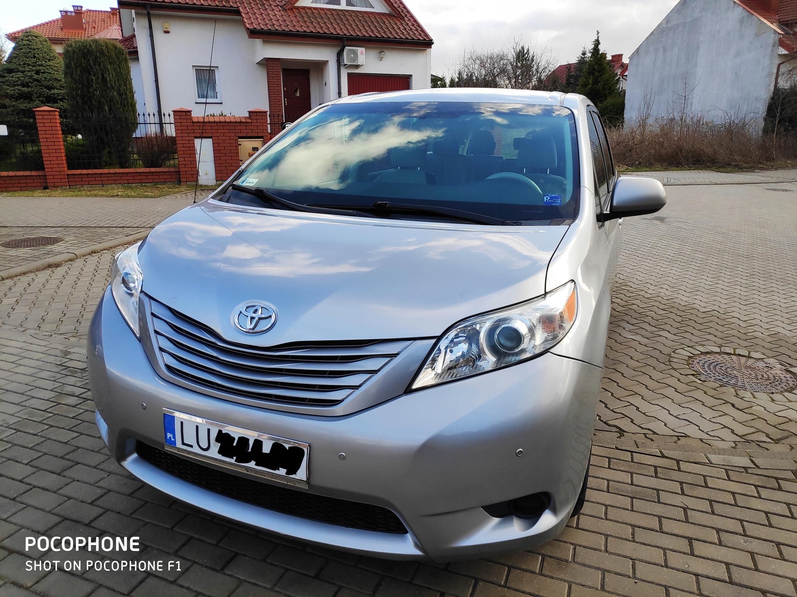 Poważnie Samochód Toyota Sienna SPORTS VAN 7 osobowy 2011r. - Opinie i ceny ME23