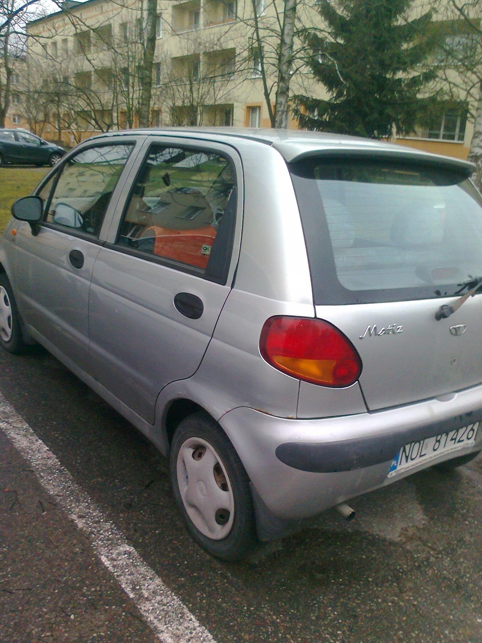 Daewoo Matiz Samochody Osobowe Opinie I Ceny Na Ceneopl