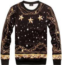e22a10766a14d AliExpress 2015 Jesień zima Bluzy Nowy Versa Hip hop mężczyzna kobiet  gwiazdy złoty łańcuch 3d print