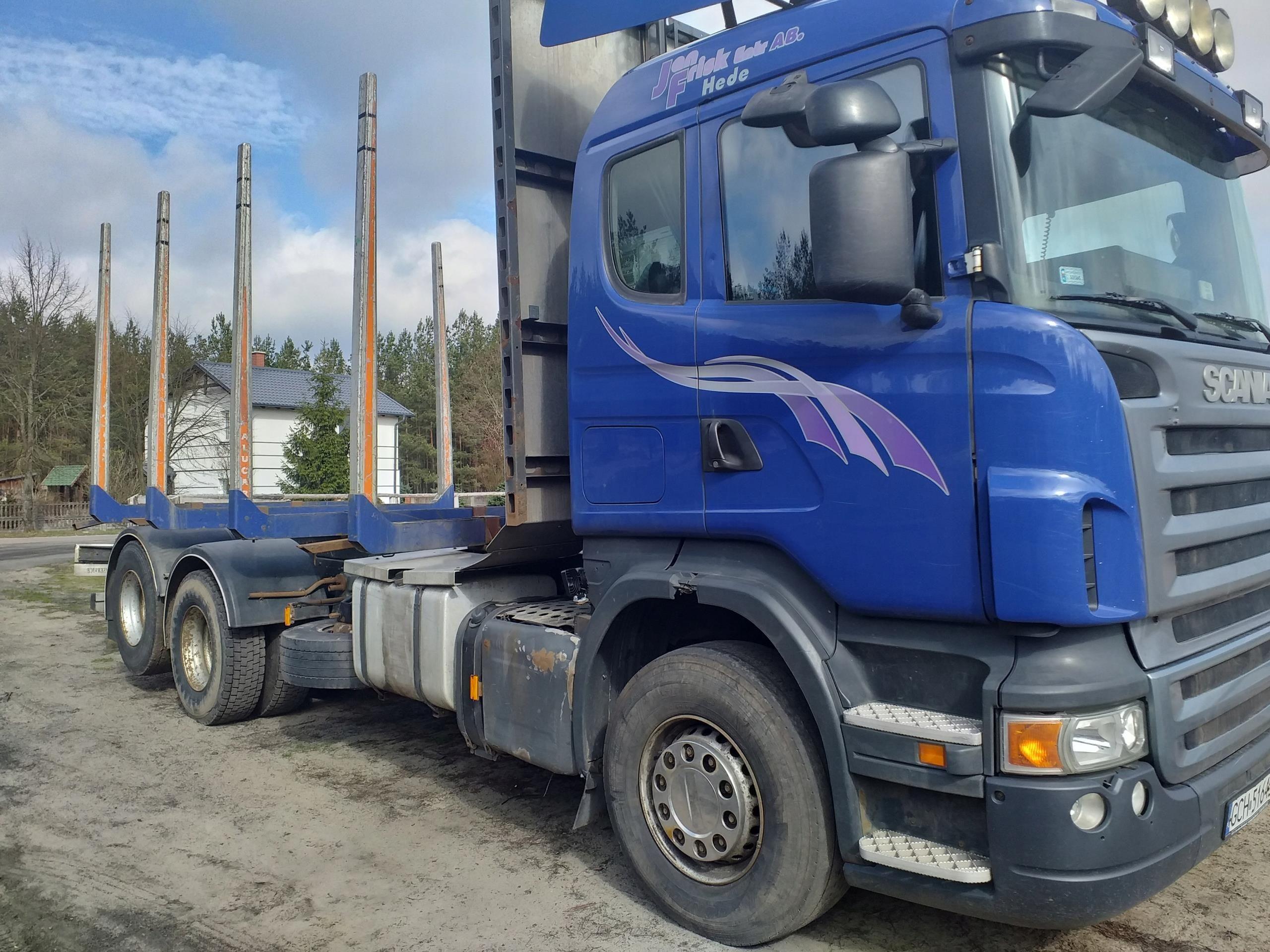 Samochod Ciezarowy Scania Do Przewozu Drewna Opinie I Ceny Na Ceneo Pl