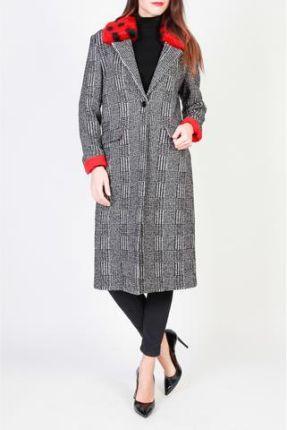 XL NICOLE szary dresowy płaszczyk z kapturem