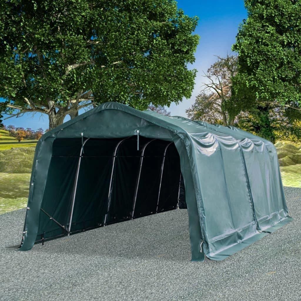Namiot dla bydła Pvc, 550 gm2, 3,3x8 m, zielony Ceny i opinie Ceneo.pl