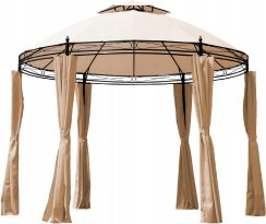 Okrągły Pawilon Ogrodowy Namiot Altana Cappucino