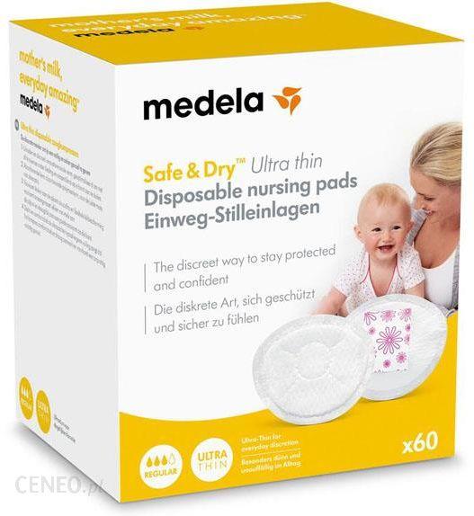 Medela Wkładki Laktacyjne Safe & Dry 60Szt
