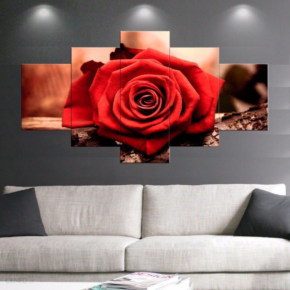 Aliexpress 5 Sztuk Druku Plakaty Wiara Miłość Czerwone Kwiaty Róże Malarstwo Nowoczesne Home Decor Wall Art Obraz Olejny Na Płótnie Dla Sypialni