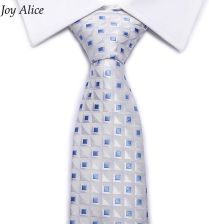 7fd1f6e22555b AliExpress Wysokiej jakości Nowych moda Niebieski Plaid krawat mężczyźni 8  cm szerokość grupa corbatas krawat fit
