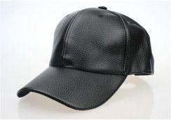 AliExpress Wysokiej jakości mężczyźni jesienno zimowa skórzany kapelusz Czapka snapback kapelusz męska czapka z daszkiem hurtowy 2019 nowych moda
