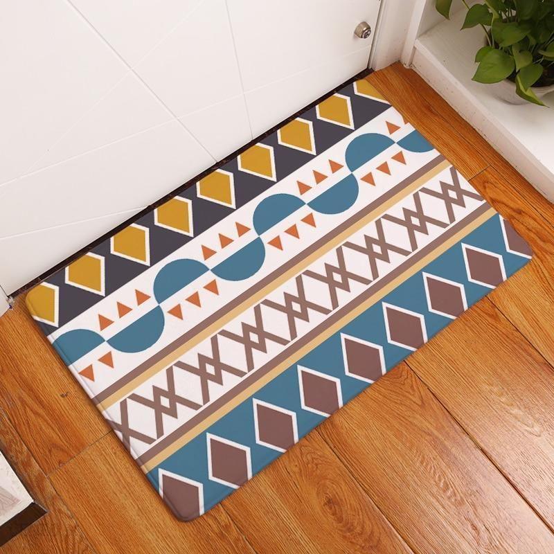 Aliexpress Nowy Przyjazd Wzór Nadrukowany łazienka Kuchnia Dywany Dywaniki Wycieraczki Kot Mata Podłogowa Dla Pokoju Gościnnego Anti Slip Tapete