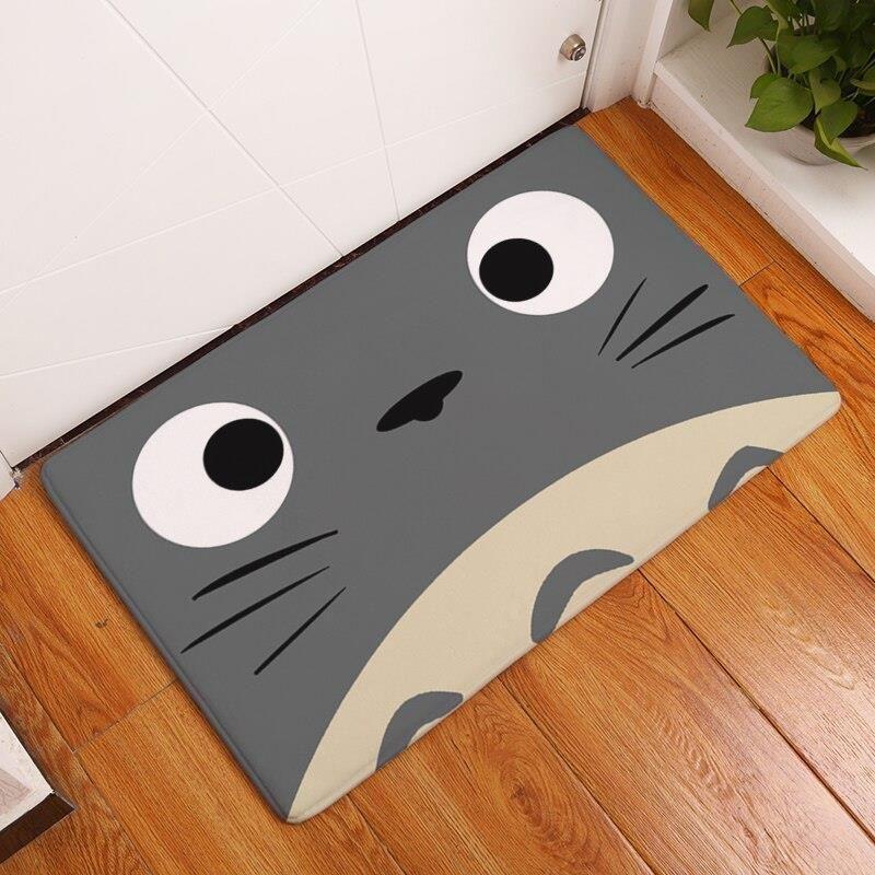 Aliexpress 2017 Zapraszamy Dywaniki Piękny Cartoon Drukowane Dywany łazienka Kuchnia Wycieraczki Kot Mata Podłogowa Dla Pokoju Gościnnego Antypoślizgo