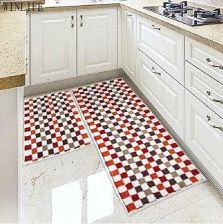 Aliexpress Winlife Mozaika Kuchnia Dywany Kolorowe Plaid łazienka Dywan Piętro Pokój Maty 2 Sztuk Rozmiar 18 24and18 47 Ceneopl