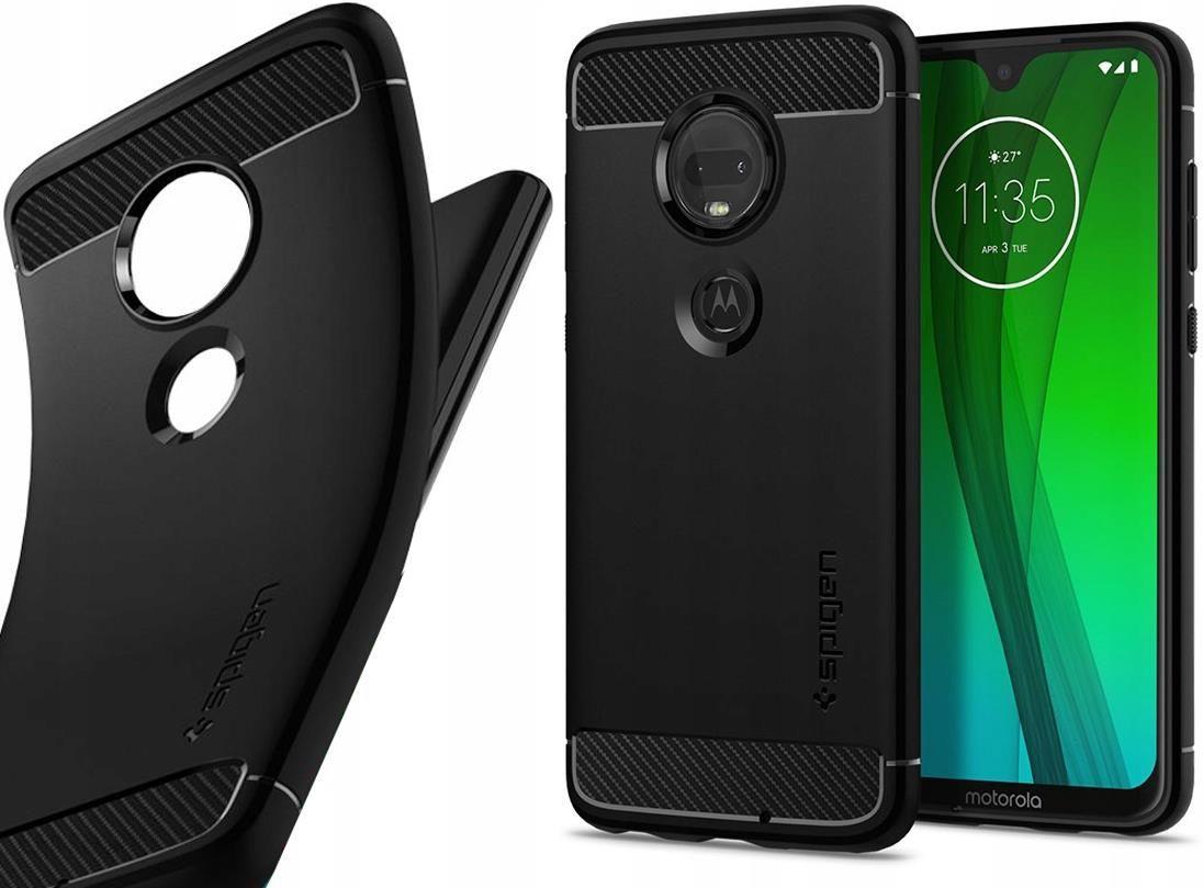 Spigen Rugged Armor Etui Motorola Moto G7 Plus G7 Etui Na Telefon Ceny I Opinie Ceneo Pl