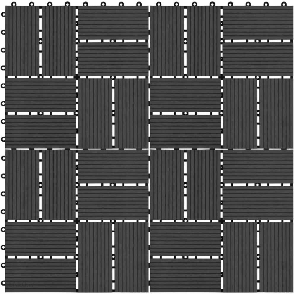 Deska Podłogowa Płytki Tarasowe 11 Szt Wpc 30 X 30 Cm 1 M Cz Opinie I Ceny Na Ceneopl