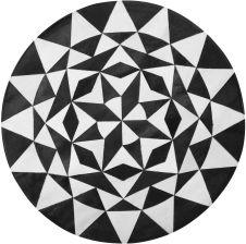 Dywany i wykładziny dywanowe Beliani Kształt Koło Dywany