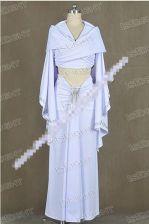 AliExpress Star wars padme amidala biała sukienka płaszcz uniform cosplay costume halloween Ceneo.pl