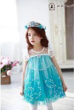 944ef172dc AliExpress Nowy Elsa Anna Dziewczyny Sukienka Cosplay Party kid Księżniczka Sukienki  Dzieci odzież Dla Niemowląt Dzieci