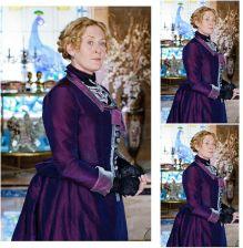 95fc69b003abc7 AliExpress Klienta zamówić! 19 wieku BBC, Raj Kobiety Tafta Vintage  Kostiumy Victorian Civil War