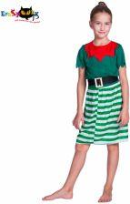 1fb34dbc73 AliExpress Dziewczyna Elf Cosplay Kostium Halloween Kostiumy Dla Dzieci  Dzieci Zielony Suknie na Wakacje Boże Narodzenie