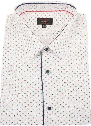 GATE Koszula slim fit w kropki z łatami Ceny i opinie  YG3ct