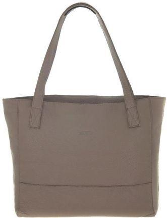 ab5d502139144 Marynarska płócienna eko torba plażowa paski shopper bag + saszetka ...