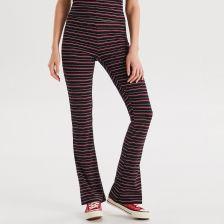 9a60c0f78f89b Cropp - Dzianinowe spodnie dzwony - Granatowy