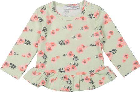 4fe2488d0be7 Mohito - Koszulka z cekinami dla dziewczynki little princess - Biały ...