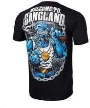 Koszulka Pit Bull Welcome To Gangland '19 - Czarna (219040.9000) - Ceny i opinie T-shirty i koszulki męskie AICP