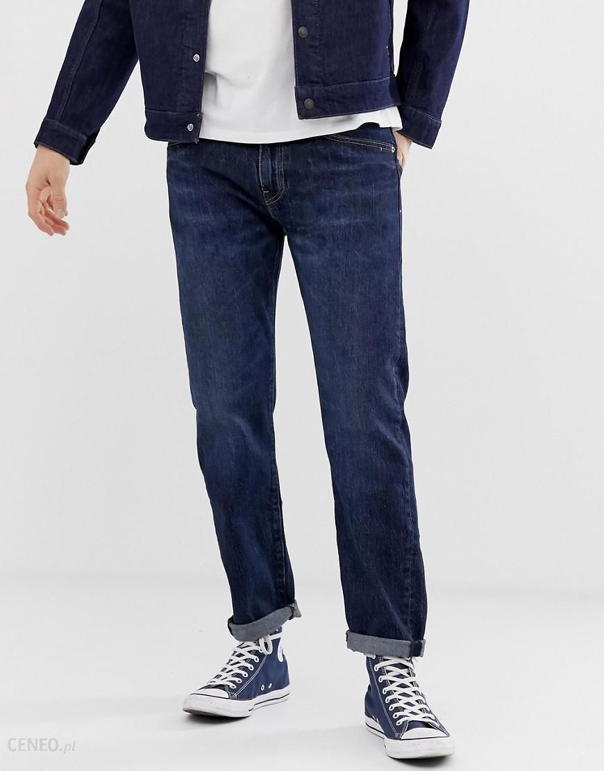 Levi's 502 regular tapered fit jeans in pauper dark wash Blue Ceneo.pl