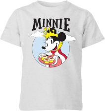 Disney Mickey Mouse Queen Minnie Kids' T-Shirt - Grey - 3-4 Years - Grey