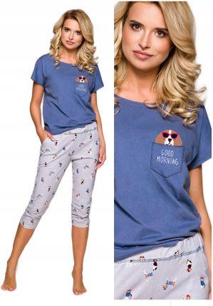 b142759d98 piżama damska Taro Etna 2168 Bigle bawełna - L 40
