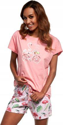 86ffd13f18ac54 Italian Fashion Piżama Damska Karmona Wsr Krsp Pinkgrafit - Ceny i ...