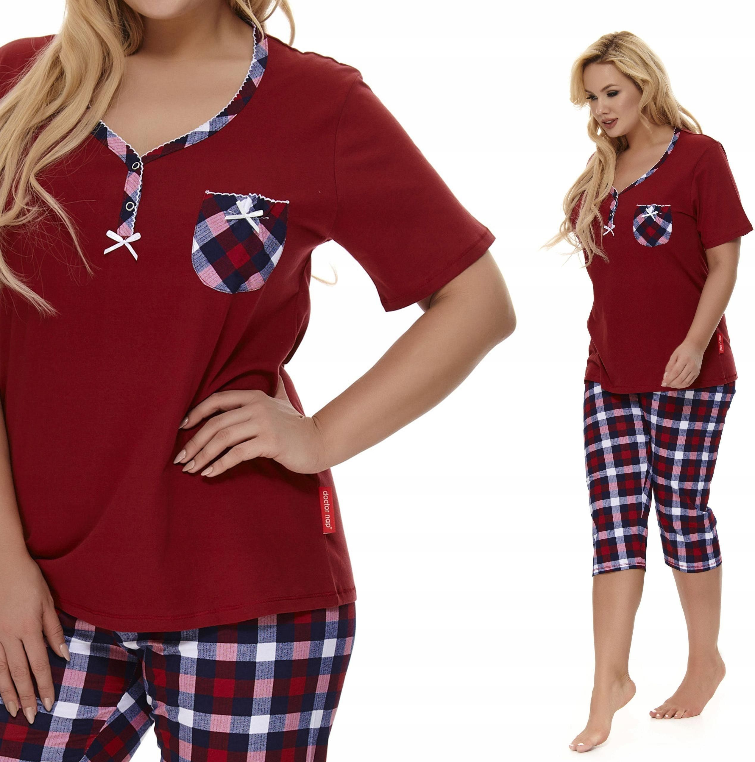 ca11cd18aced0b Pb 9647 Doctor Nap piżama damska elegancka bawełna - Ceny i opinie ...